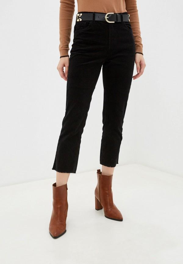 женские повседневные брюки piazza italia, черные