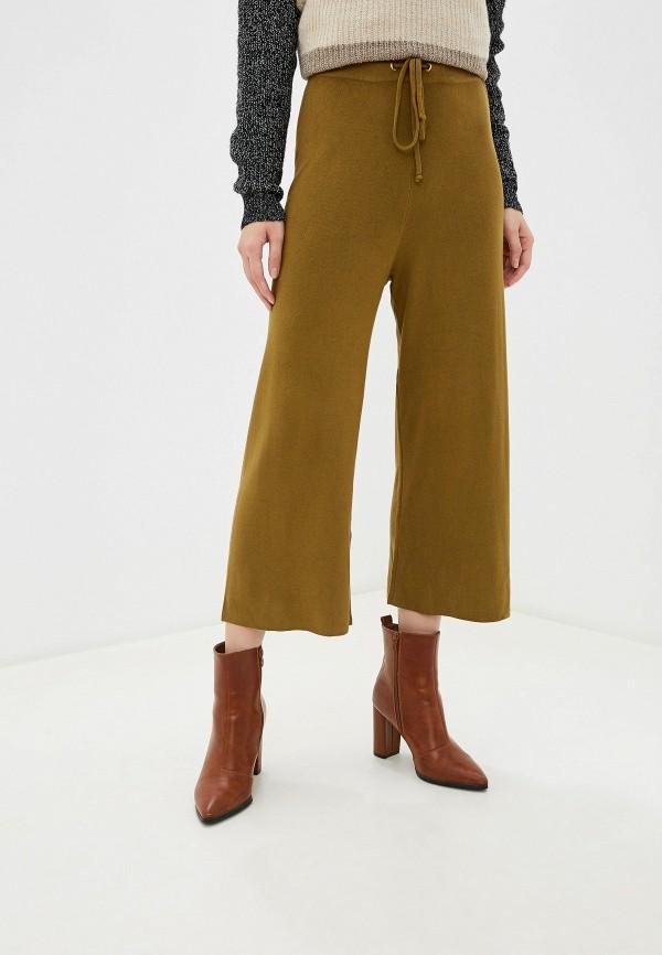 женские брюки piazza italia, хаки