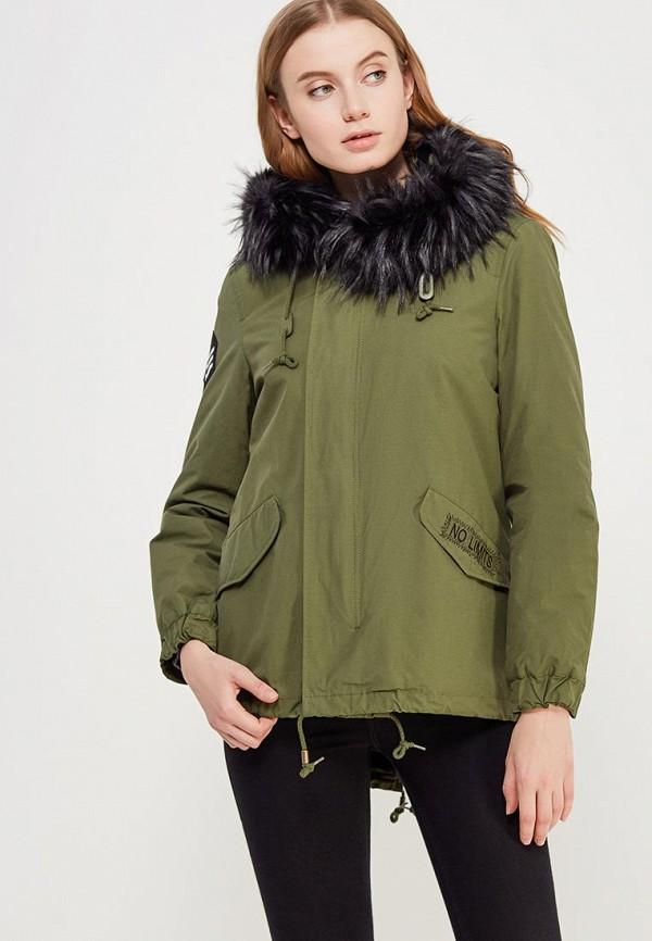 Купить Куртка утепленная Piazza Italia, PI022EWZWN28, хаки, Осень-зима 2017/2018