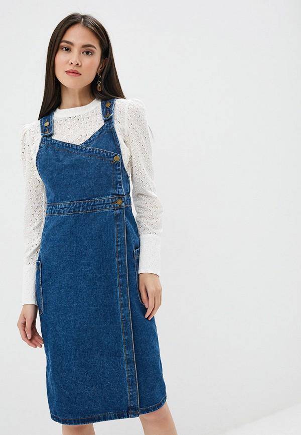 Платье джинсовое Pink Frost Pink Frost PI023EWFLSR9 цены онлайн