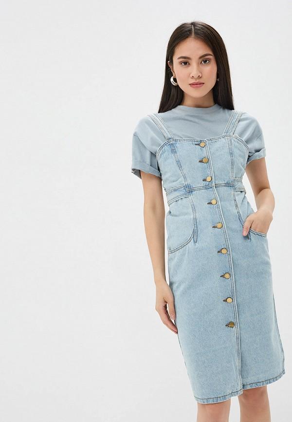 Платье джинсовое Pink Frost Pink Frost PI023EWFLSS1 цены онлайн