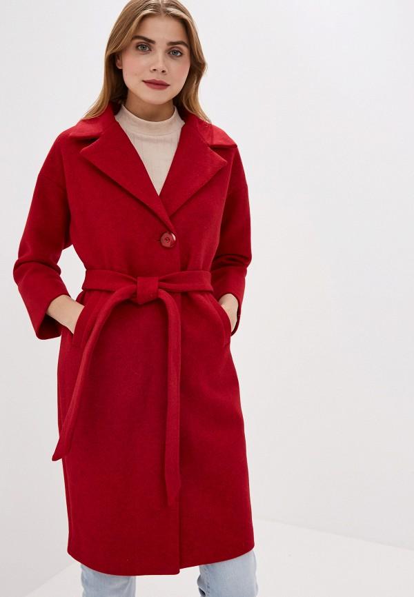 Фото - женское пальто или плащ Pink Frost красного цвета
