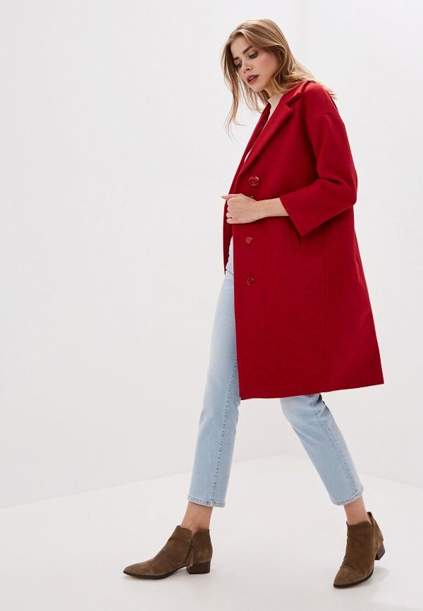 Фото 2 - женское пальто или плащ Pink Frost красного цвета