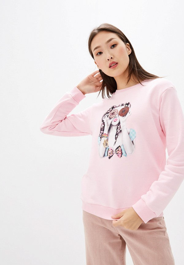 лучшая цена Свитшот Pink Frost Pink Frost PI023EWGZKB1