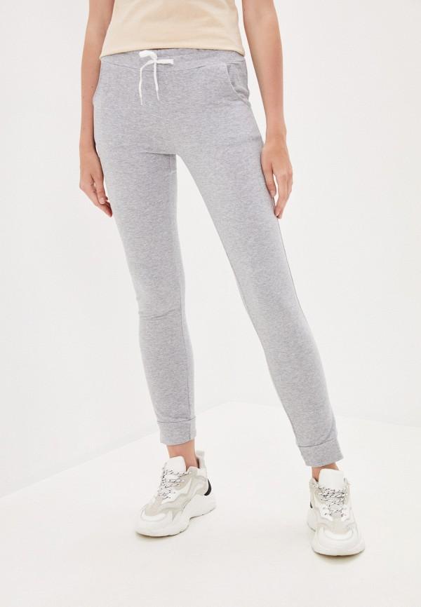 женские спортивные брюки pink frost, серые