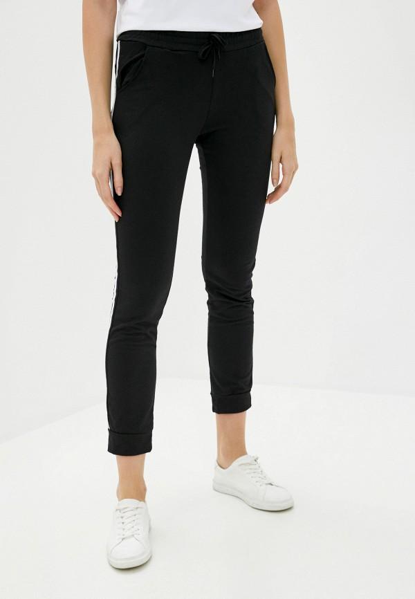 женские спортивные брюки pink frost, черные