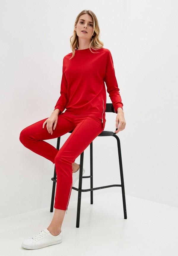женский костюм pink frost, красный