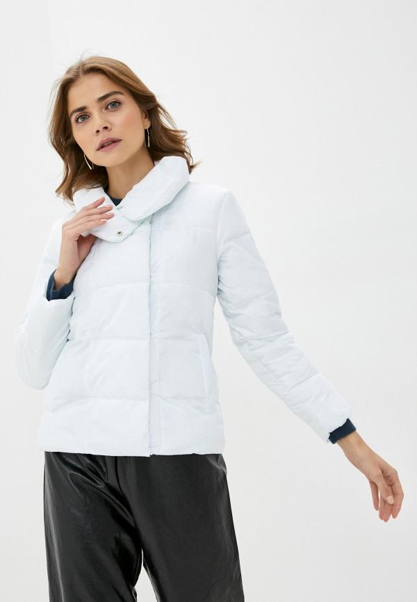 женская куртка pink frost, белая