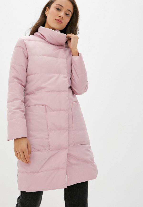 женская куртка pink frost, розовая