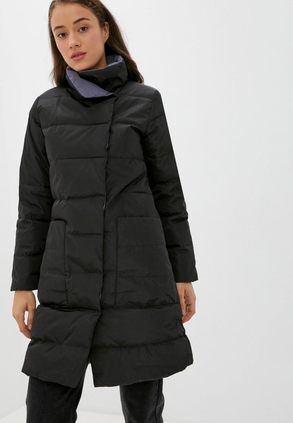 женская куртка pink frost, черная