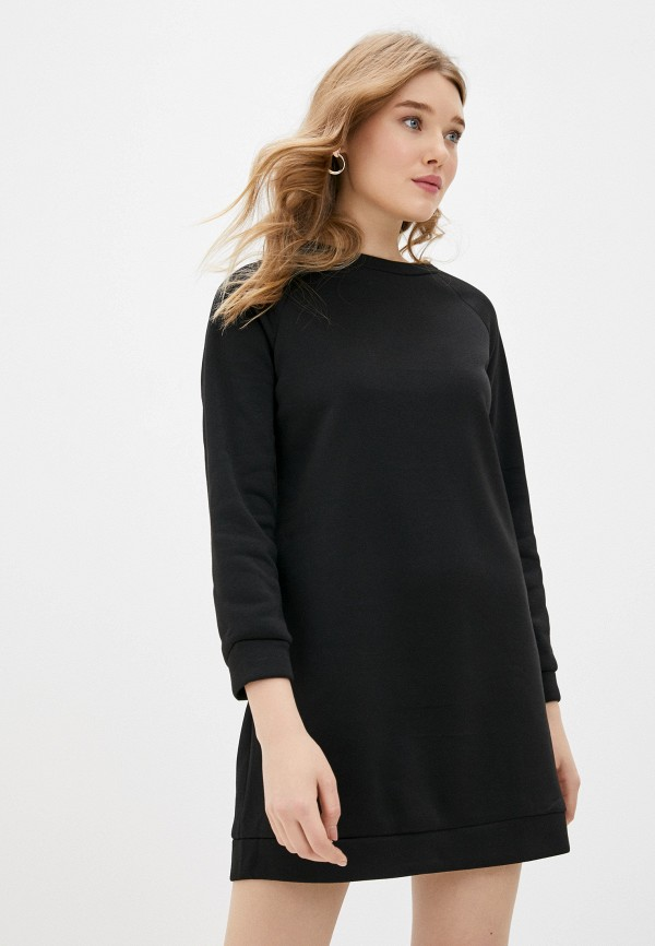 женское платье pink frost, черное