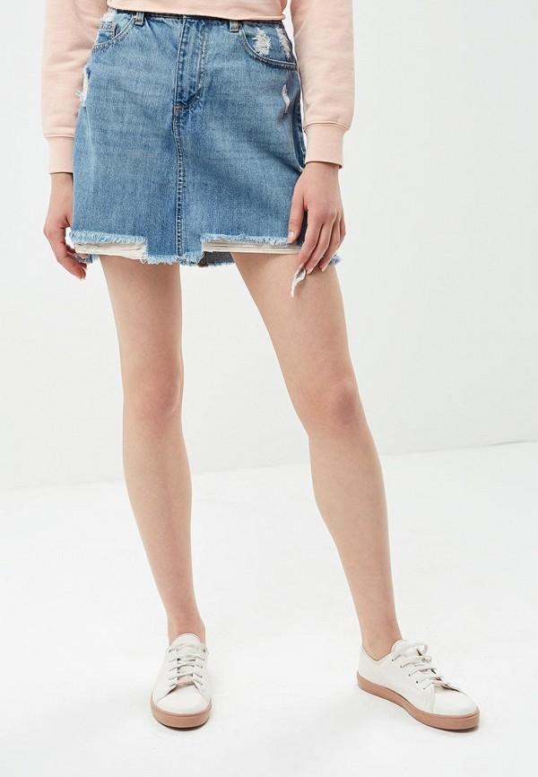 Юбка джинсовая Pink Woman