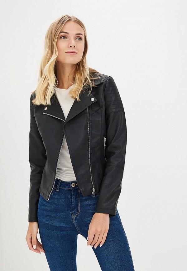 Купить Куртка кожаная Pink Woman, pi026ewameo6, черный, Весна-лето 2018