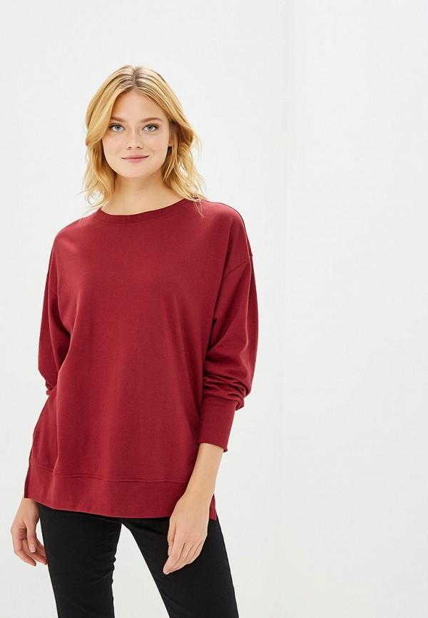 Купить Свитшот Pink Woman, PI026EWCGUY4, бордовый, Осень-зима 2018/2019