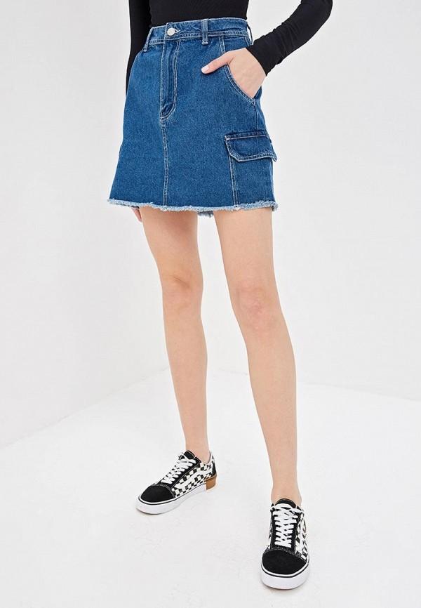 Юбка джинсовая Pink Woman Pink Woman PI026EWEEMQ8 цены онлайн