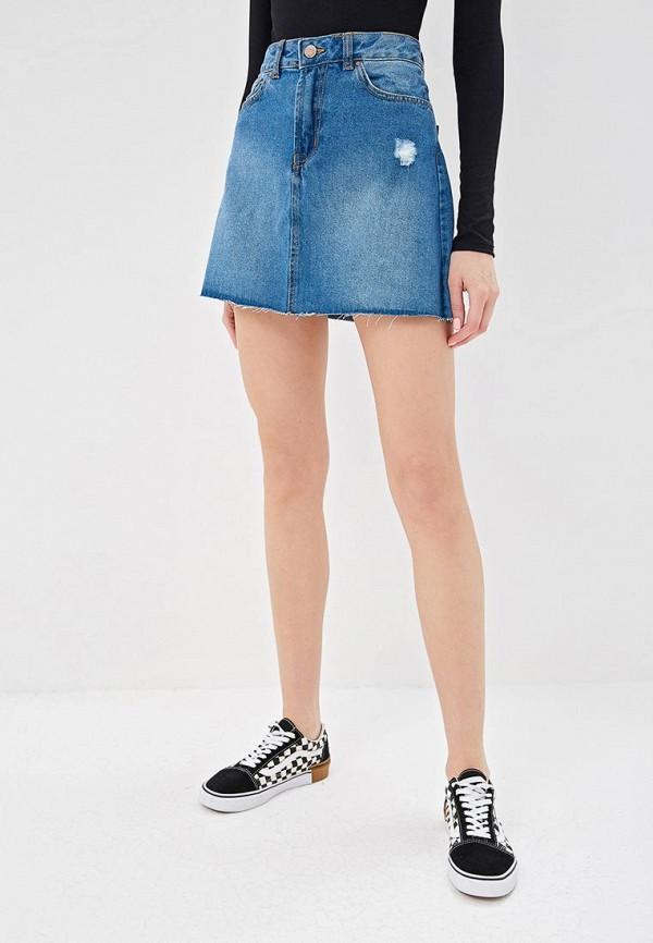 Юбка джинсовая Pink Woman Pink Woman PI026EWEETI6 цены онлайн
