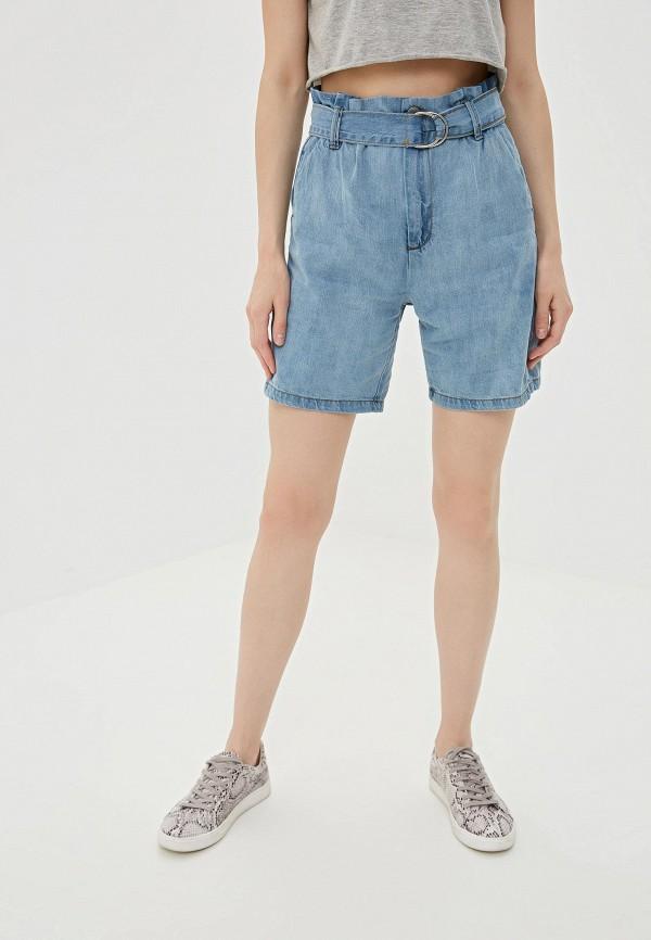 Купить Шорты джинсовые Pink Woman голубого цвета