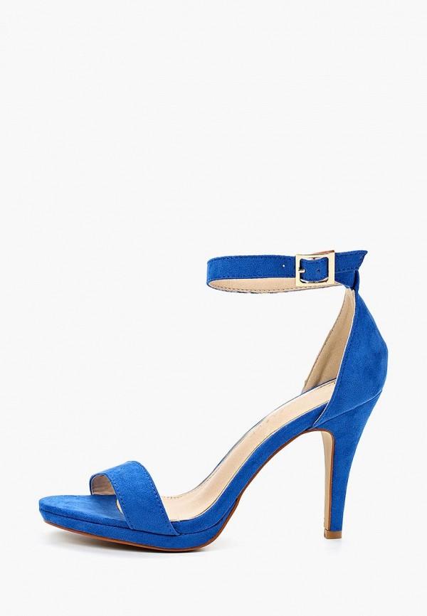 женские босоножки pinkdesert, синие