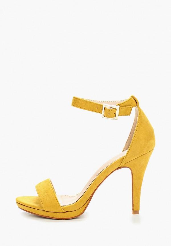 женские босоножки pinkdesert, желтые