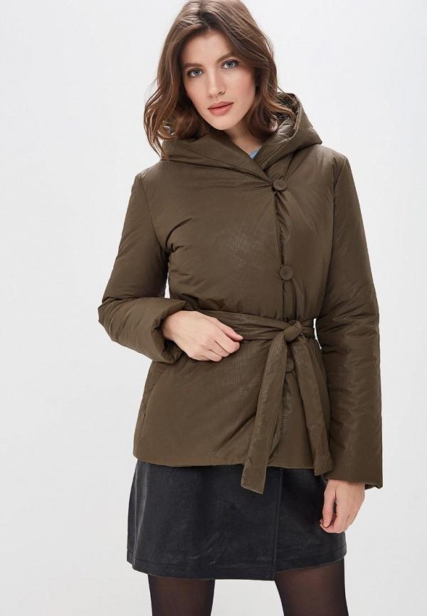 женская куртка pietro filipi, хаки