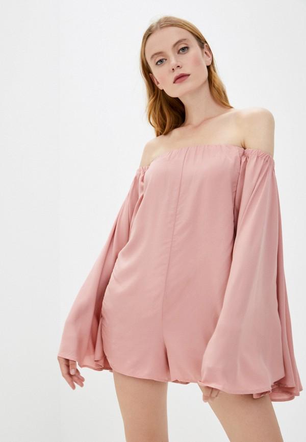 женский комбинезон pilyq, розовый