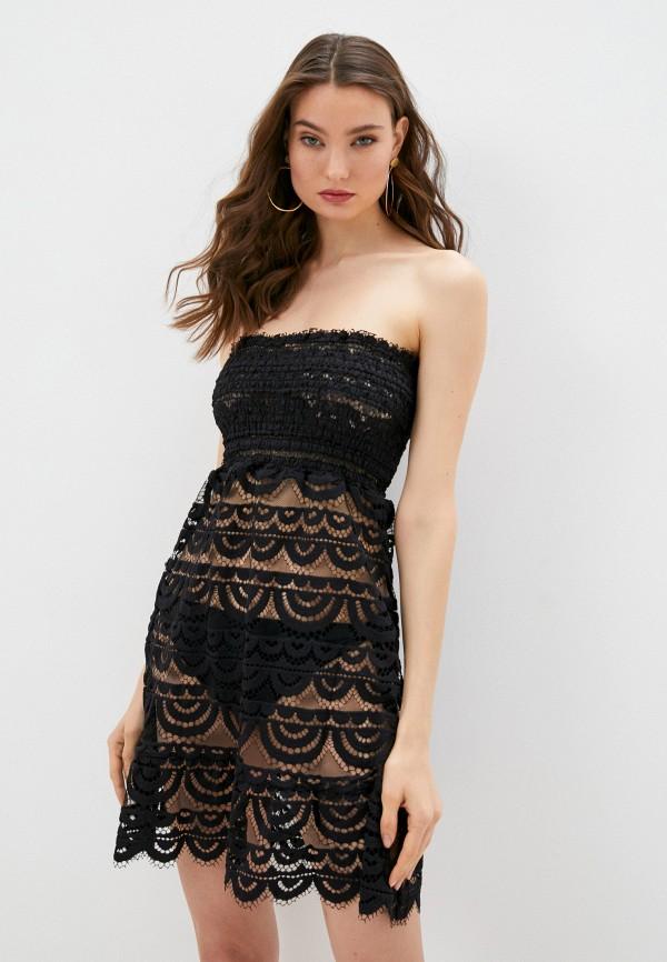 женское платье pilyq, черное