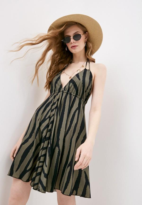 женское платье pilyq, хаки