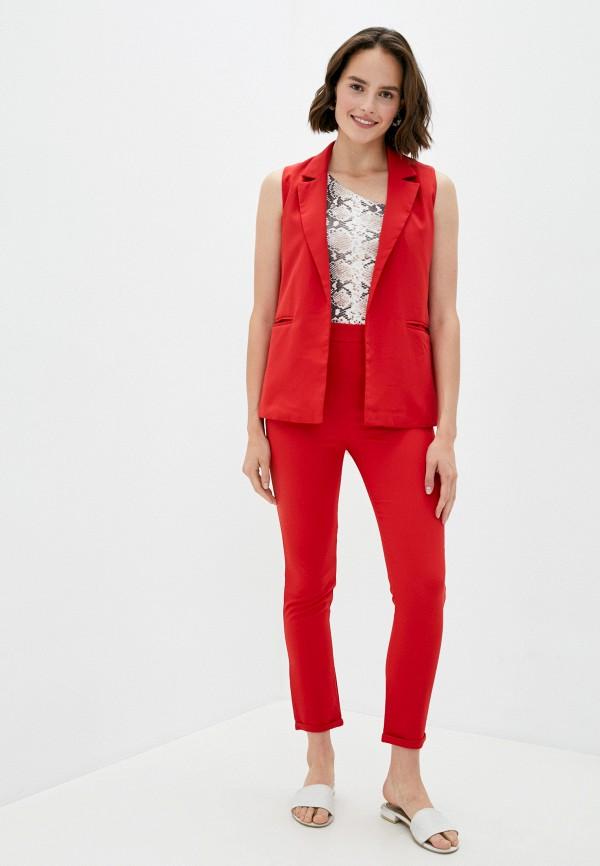 женский костюм pink summer, красный