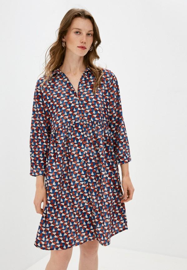 женское повседневные платье pietro brunelli milano, разноцветное