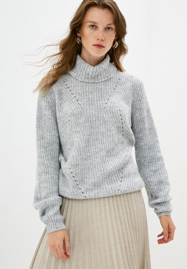 женский свитер pietro brunelli milano, серый