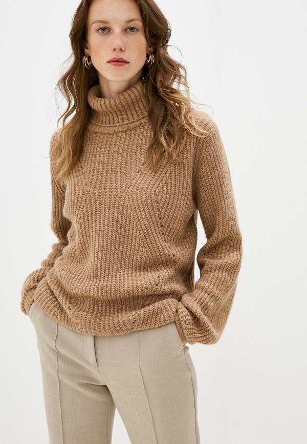 женский свитер pietro brunelli milano, бежевый