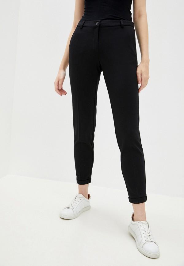 женские повседневные брюки pietro brunelli milano, черные