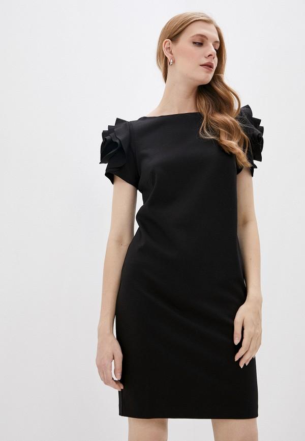 женское повседневные платье pietro brunelli milano, черное
