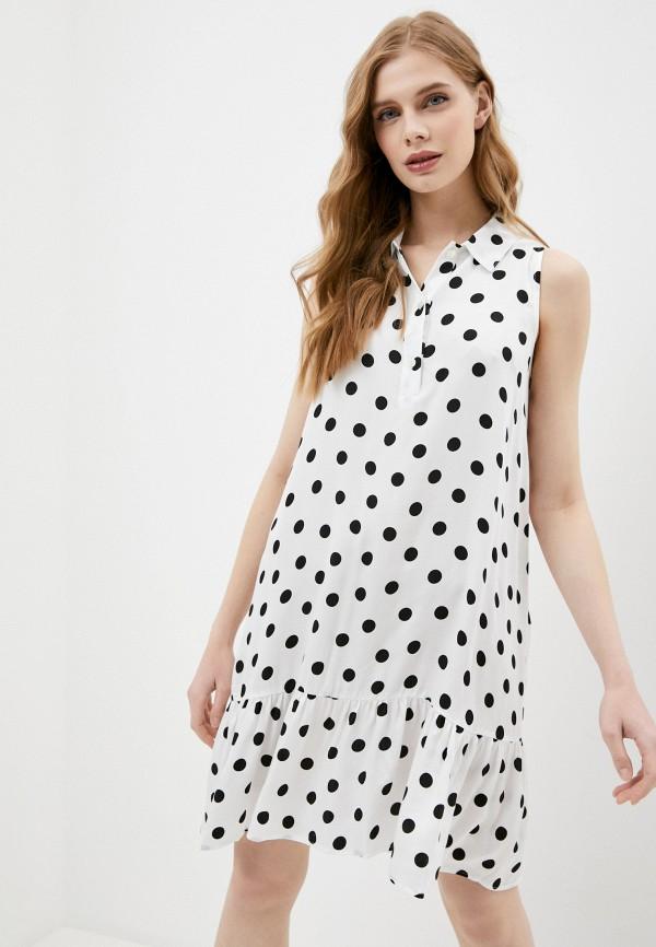 женское повседневные платье pietro brunelli milano, белое