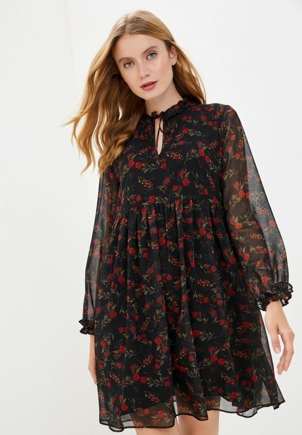 женское повседневные платье pietro brunelli maternity, черное