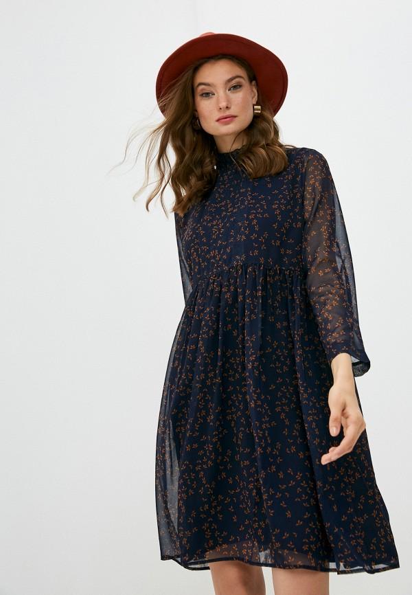 женское повседневные платье pietro brunelli maternity, синее
