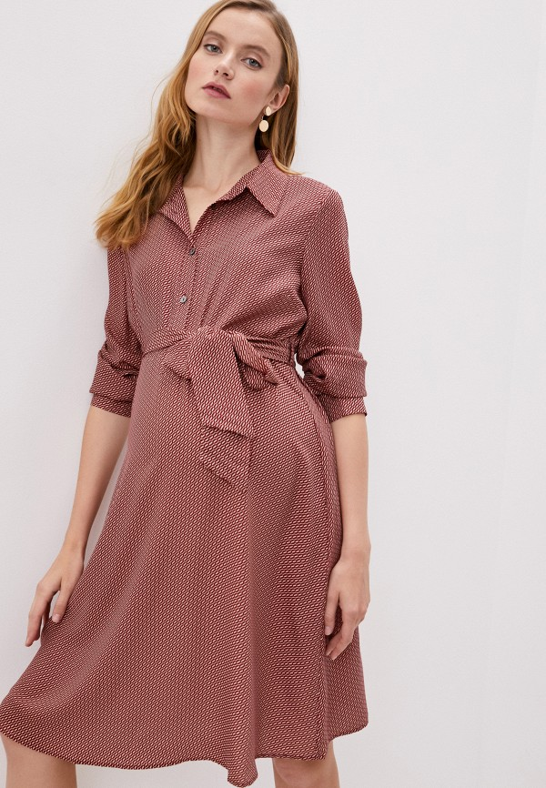 женское платье pietro brunelli maternity, красное