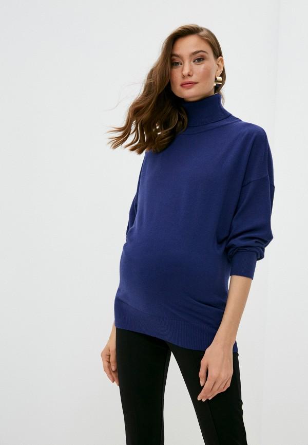 женский свитер pietro brunelli maternity, синий