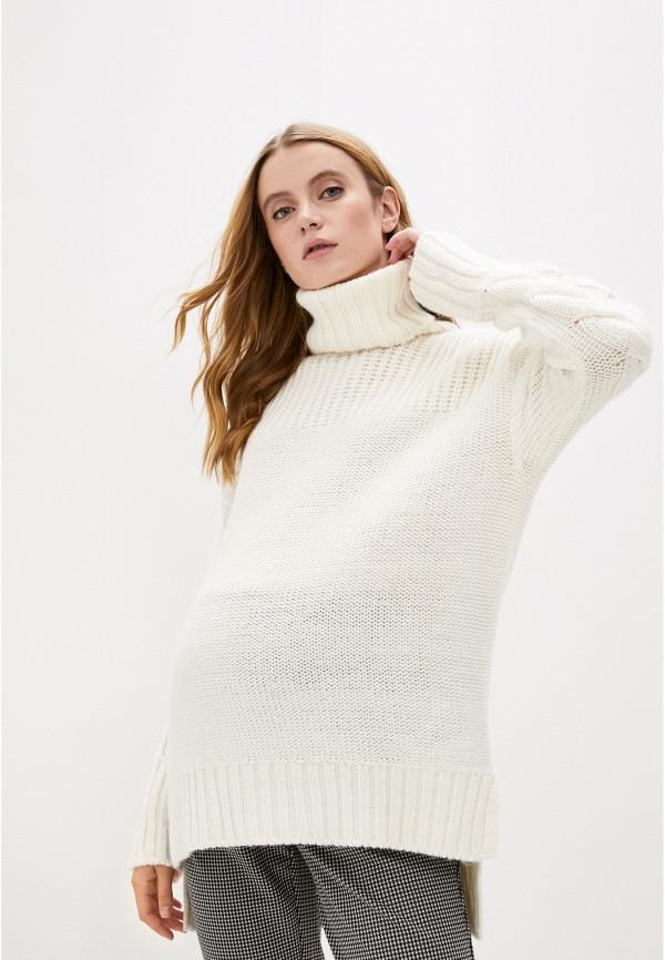 женский свитер pietro brunelli maternity, белый