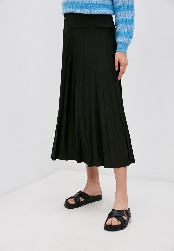 женская юбка pietro brunelli maternity, черная