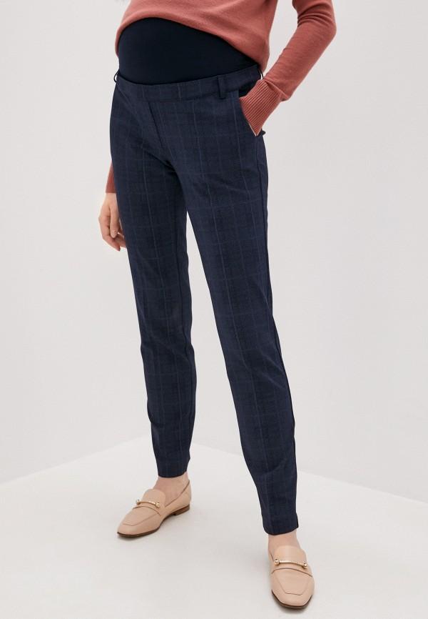 женские повседневные брюки pietro brunelli maternity, синие