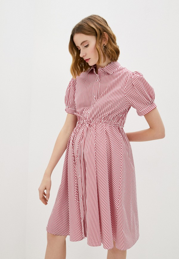 женское платье pietro brunelli maternity, розовое