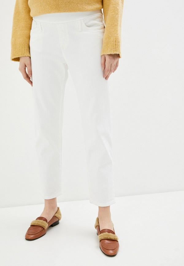 женские джинсы pietro brunelli maternity, белые