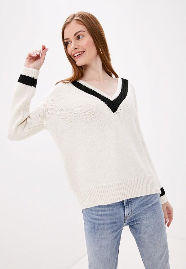 женский пуловер pimkie, белый