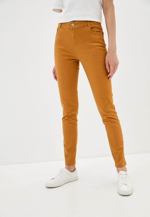 женские повседневные брюки pimkie, желтые