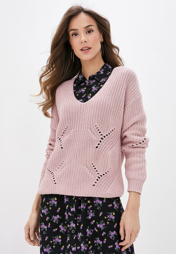 женский пуловер pimkie, розовый