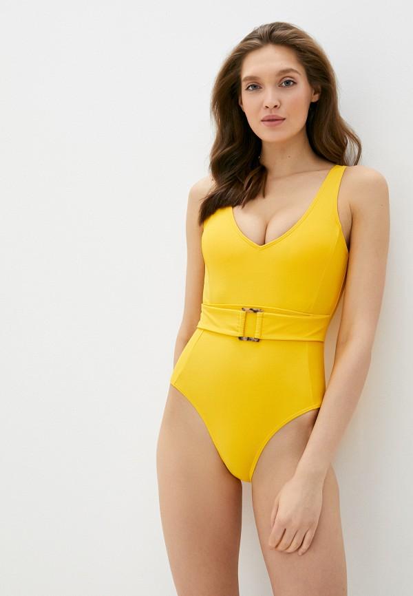 женский купальник pimkie, желтый