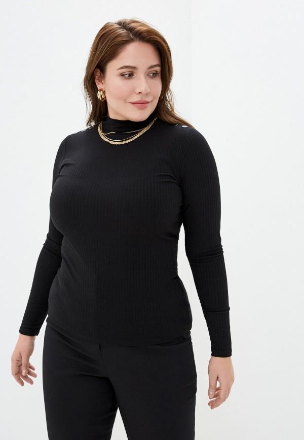 женская водолазка pimkie, черная
