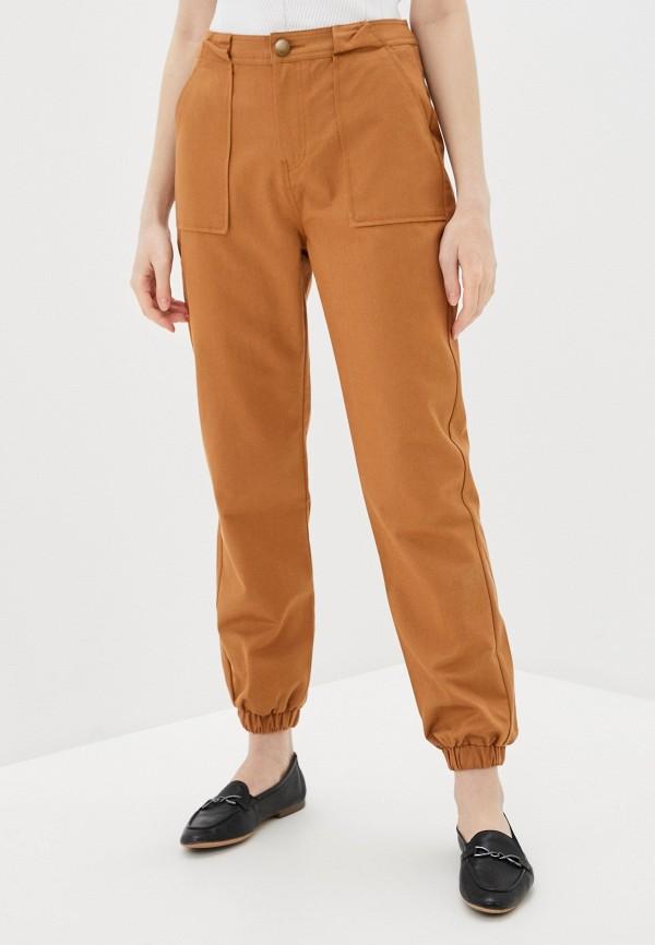 женские повседневные брюки pimkie, коричневые