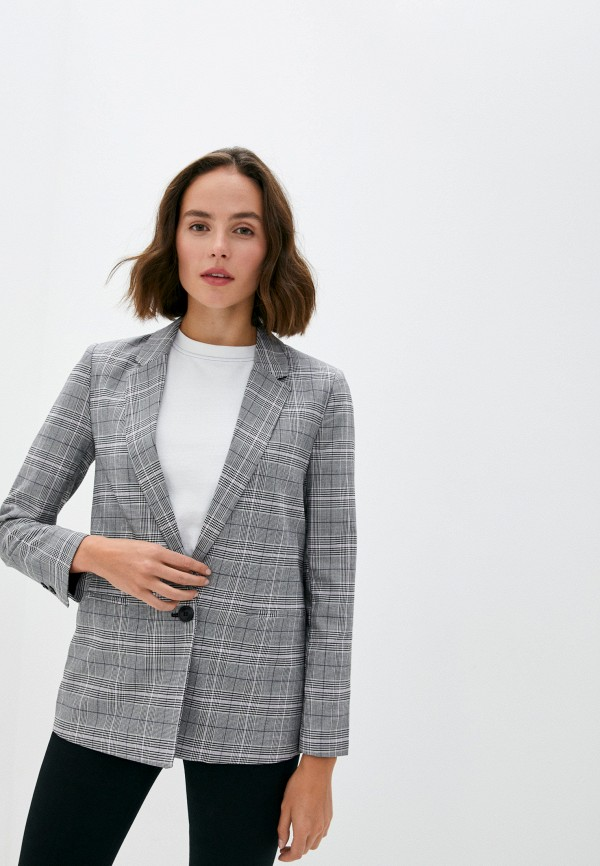 женский пиджак pimkie, серый